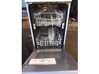 White Knight Slim Dishwasher DW0945WA, Mint Condition