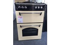 leisure 60cm double oven gas cookers new 12 month sgtee rrp £549 only £349