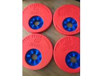 Delphine swim discs x 4
