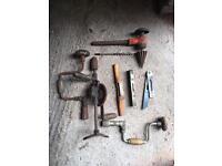 Antique Carpentry tools