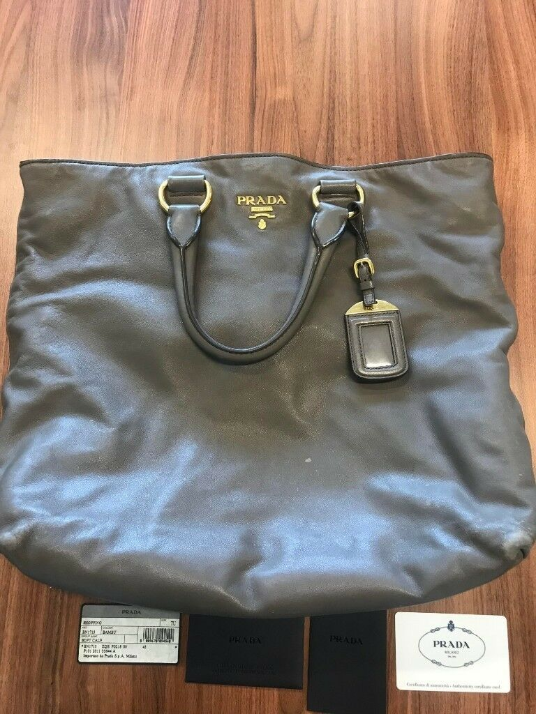 764916f76382 PRADA BAG FOR SALE WITH CERTIFICATE OF AUTHENTICATION ...