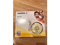 Medela swing breast pump - like new