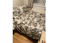 Double bed and mattress free