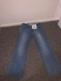 Women's Animal Jeans (Size 14L)
