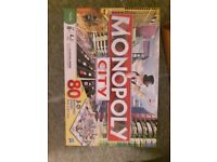 Board Game. Monopoly city.