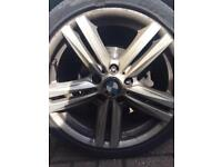 "BMW 18"" 1 series sport alloys"