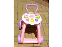 Fisher Price musical, educational 2 in 1 walker and toy
