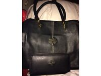 Mulberry hand bag and purse