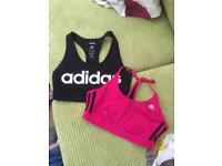 2 x Adidas Sports Bra's