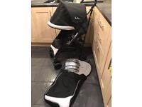 Silver Cross pushchair & Footmuff