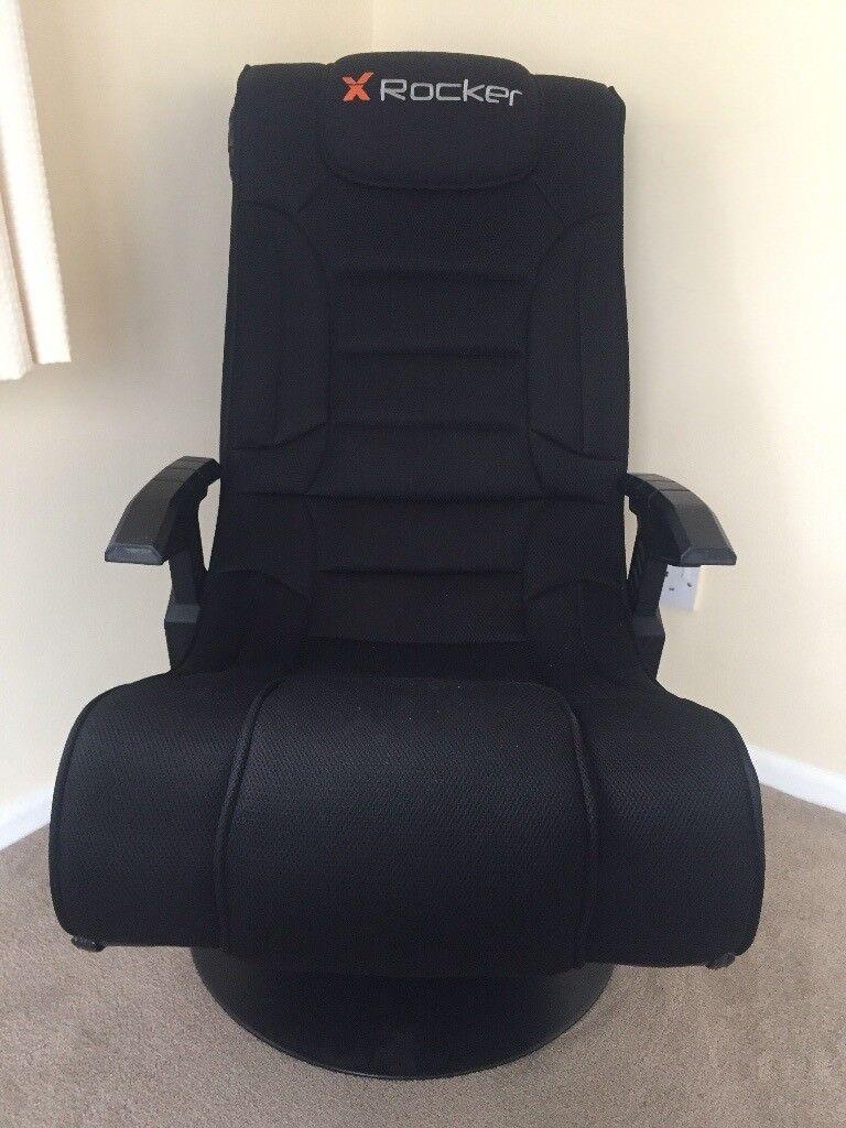 Xrocker Gaming Chair With Built In Speakers