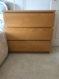 NEED GONE ASAP- Ikea malm drawers