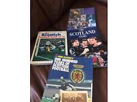 4 x Scotland Football books