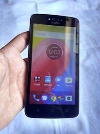 "MOTOROLA MOTO 4G **UNLOCKED ANY SIM** 5"" HD display smartfone"