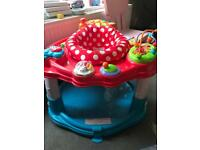Baby activity bouncer