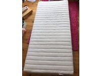 Ikea single mattress (with springs)