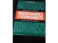 Mathematics for Economists: An Introductory Textbook by Malcolm Pemberton & Nicholas Rau