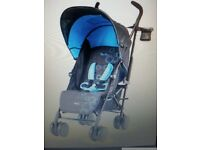 Silver cross pop stroller black