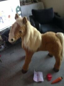 LARGE BUTTERSCOTCH PONY FULL WORKING ORDER