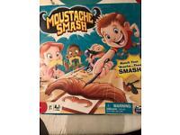 Moustache smash board game