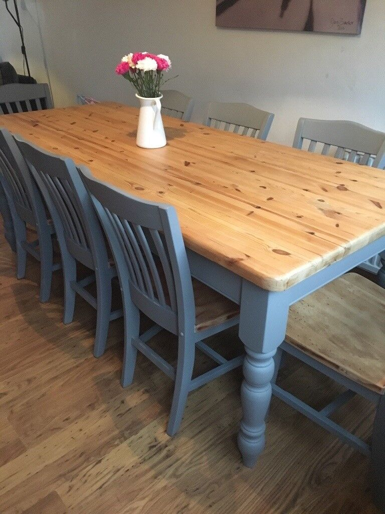 Very Large Dining Table and 8 Chairs | in Farnborough ...