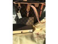Louis Vuitton Bag and matching Purse