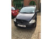 Quick sale VW FOX 1.2 PETROL, 2007 PLATE