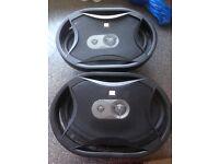"Car speakers JBL GTO 936e 6"" x 9"" 3 Way"
