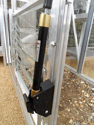 Thermofor side louvre greenhouse vent opener - solar powered autovent