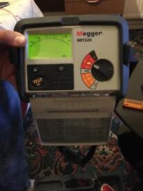 Insulation tester Megger