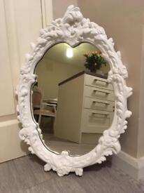 Shabby Chic Ornate Mirror