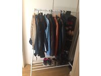 Clothes rail + shoes box - URGENT