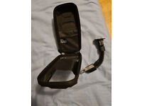 Waterproof zipped case for mobile with bike attachment and see through cover