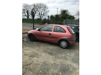 Vauxhall, Corsa 2001, 1.2 Engine