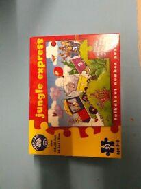 Childs jungle express jigsaw