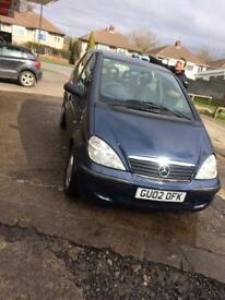 1.4 Mercedes automatic petrol 11 mot very cheap runner only 97 miles on clock £695