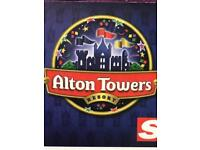Alton tower tickets x4 for the 15/07/2018