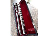 Flute Hernals S100. In good condition with case .