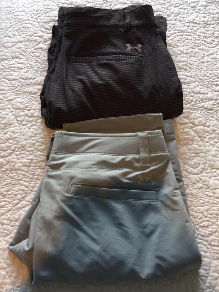 Under Armour Golf Trousers (2 Available)