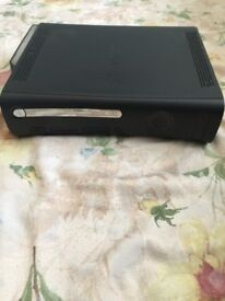 XBOX 360 with two controllers, 5games and internet adapter