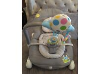 Chicco balloon baby chair in grey. Excellent condition, very clean smoke and pet free home