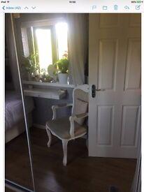Two Mirrored Sliding Wardrobe Doors (B & Q)