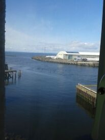 2 Bedroom apartment, Ayr Harbour, Council Tax included