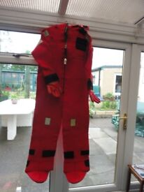 yachting survival suit