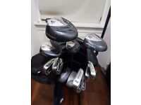 Dunlop golf clubs and bag for sale