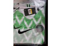 MENS NIGERIA FOOTBALL SHIRT NEW S M L XL