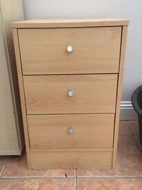 Small Drawers / Bedside Table - £5