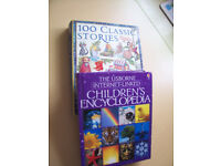 """2 Books classic stories and an """"Usborne"""" encyclopedia £10 ono"""