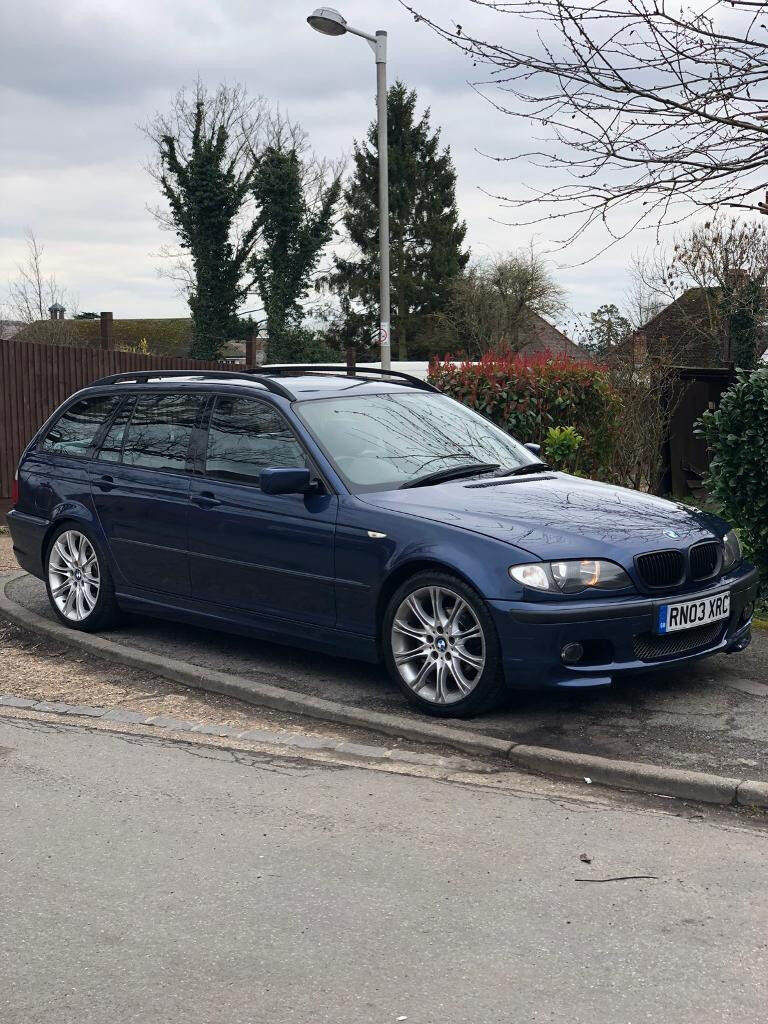 bmw e46 touring 325i m sport mystic blue in slough. Black Bedroom Furniture Sets. Home Design Ideas
