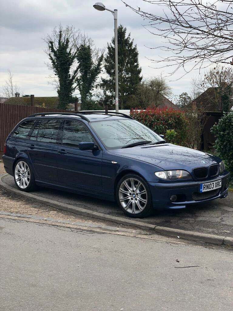 bmw e46 touring 325i m sport mystic blue in slough berkshire gumtree. Black Bedroom Furniture Sets. Home Design Ideas